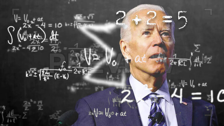 Biden's New Math